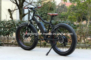 "26"" Full Suspension Electric Mountain Bike pictures & photos"