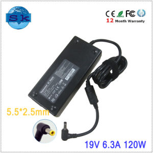Replace Parts 19V 6.3A Laptop AC Adapter for Liteon 120W