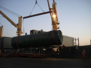 FRP Pipes and Tanker Bulk Project Bulk Shipping Ex North China to Europe