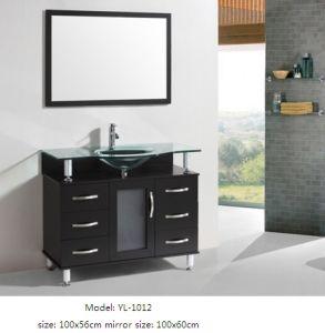 Bathroom Furniture with Glass Wash Basin