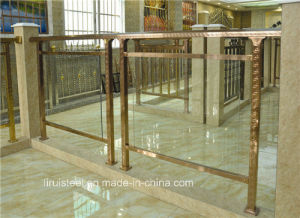 Stainless Steel Groove Pipe for Decorative pictures & photos