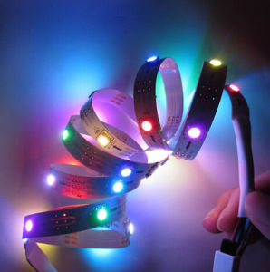 DC5V Ws2812 5050 9W Colorful IP65 Waterproof LED Digital Strip pictures & photos