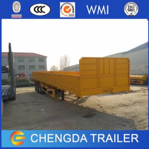 60t 3 Axle Wall Side Cargo Semi Trailer for Sale pictures & photos