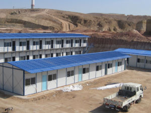 Prefabricated Cheap Living House for Labors pictures & photos
