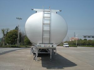 Aluminum Alloy (Fuel) Tank Trailer for Light Diesel Oil Delivery (HZZ9401GRQ) pictures & photos