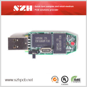4-Layer USB Flash Drive PCB Boards From China pictures & photos