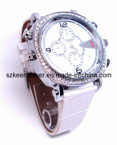 H. 264 Video Lady Watch Camera HD 720p Mini Camcorder (WC--001) pictures & photos