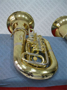 Gold Lacquer C Key Tuba (TU-47L) pictures & photos