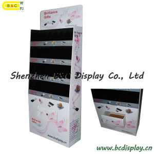 Pop Display, Corrugated Paper Display with Hooks, Display Stand, Cardboard Display, Paper Display Rack, Display Showcase, Cardboard Products (B&C-A045) pictures & photos