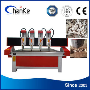 4 Axis CNC Wood Engraving Cutting Machines for Advertising Crafts pictures & photos
