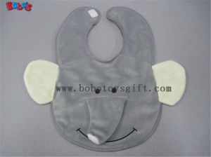 "13""Unique Baby Gifts Plush Grey Elephant Baby Bibs pictures & photos"