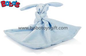 """Blue Rabbit Bunny Comforter Doudou Blankie-Blue 27cm/10.6"""" Square pictures & photos"""