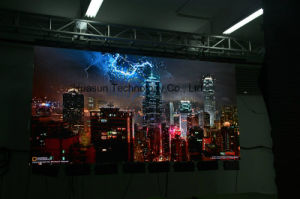 Portable Soft LED Curtain HD P3 Flex LED Screen pictures & photos