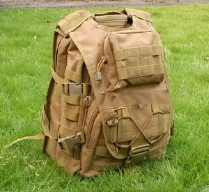 1908d Brand New Tan Camoflage Military Backpacks pictures & photos
