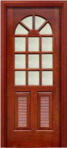 Exterior Wooden Door, Solid Wooden Door, Entrance Door Solid Wood Door pictures & photos