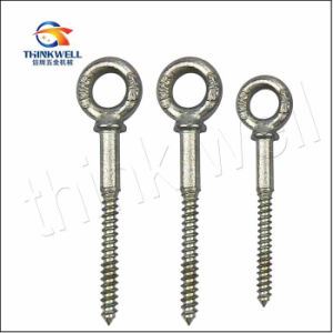 Us Type Forged Galvanized Steel Wood Bolt Eye Screw pictures & photos