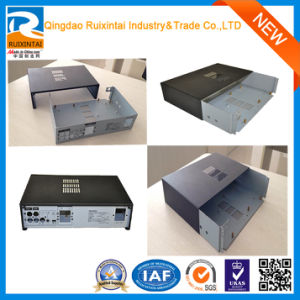 Qingdao Custom White Rectangle Locking Riveting Communication Equipment Metal Cabinet, Sheet Metal Box, Metal Fabrication pictures & photos