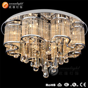 Bathroom/Restaurant Modern Ceiling Lighting, Crystal Ceiling Light Lamp Chandelier (OM7715) pictures & photos