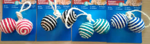 Stripe Sisal Ball Cat Toys pictures & photos