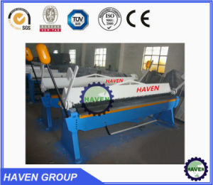 Manual steel plate bender, manual folding machine, hand folder machine pictures & photos