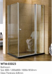 Folding Shower Door for Good Price Wtm-03D23 pictures & photos