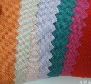 100% Ramie Plain Dyed Fabric pictures & photos