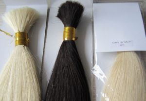 100% Virgin Human Hair Cuticle Hair Bulk -- Blond pictures & photos
