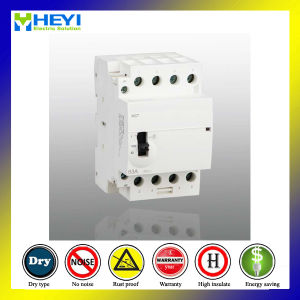 Household Compact Contactor 230V 50Hz 63A 4p 2nc 2no Electricalmachinical Type Zhejiang Wenzhou Contactor pictures & photos