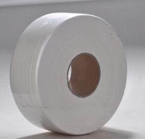 White Jumbo Roll Tissue, Jumbo Toilet Tissue Roll pictures & photos
