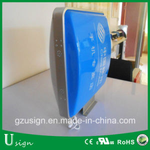Round Shape Vacuum Form Lighting Box/ Sign pictures & photos