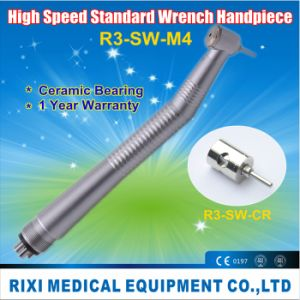 High Speed Standard Wrench Single Water Spray Dental Handpiece