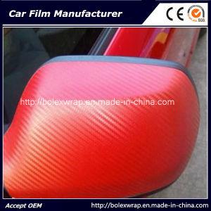 3D Carbon Fiber Wrap Vinyl Film pictures & photos