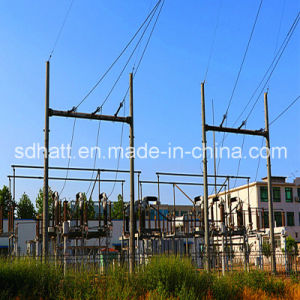 35kv Gate-Shaped Power Substation Structural Frame pictures & photos