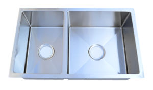 Handmade Stainless Steel Sink-Hm3018-R