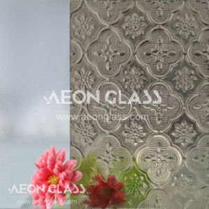 4mm, 5mm and 6mm Nashiji, Karatachi, Flora Bronze Patterned Glass pictures & photos