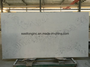 Engineered Quartz Stone Artificial Marble for Tile Slab Countertop pictures & photos