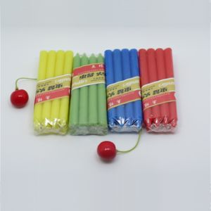 Colored Dripless Taper Household Candles pictures & photos