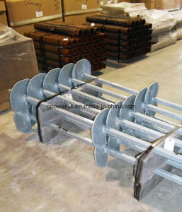 Tube Type Q345 Welding Helical Screw Anchor Pier pictures & photos