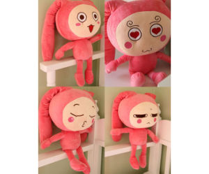 Plush Soft Cartoon Doll Panst