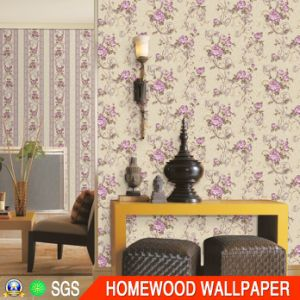 Deep Embossed Vinyl Wall Paper with Cheaper Price pictures & photos