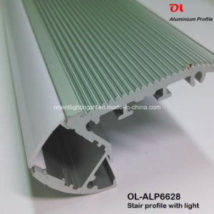 LED Aluminum Profile for Stair with LED Strip (ALP6628) pictures & photos