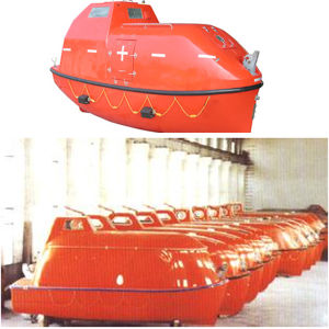 Solas Fast Rescue Boat Rescue Fiber Boat Military Boats Used Freefall Lifeboats for Sale