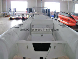 Inflatable Boat Fiberglass Fishing Boat Rib 360 Ce pictures & photos