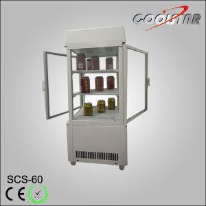 60L Countertop Ventilated Double Open Doors Beverage Cooler (SCS-60) pictures & photos