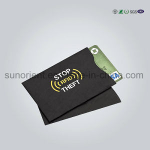 Custom RFID Blocking Card Holder Wallet pictures & photos