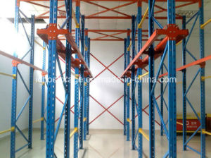 Adjustable Cold-Rolled Selective Pallet Rack for Forklift Drive in pictures & photos