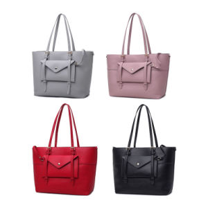 Elegant Latest Design PU Leather Hobo Handbag Women Bags 2017