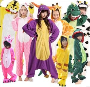 Wholesale Adult Animal Pajamas Pyjamas Onesie Cosplay Costume (SM 356)