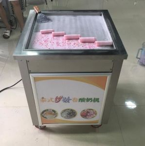 Square Single Head Fried Roll Ice Cream Machine pictures & photos