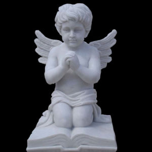 White Marble Angel Sculpture Statue pictures & photos